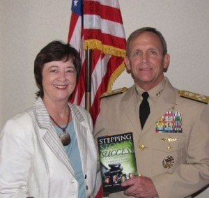Kathy Perry with Admiral Eric T. Olson