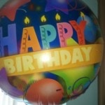 Kathy Perry Birthday Balloon