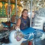 Joanne Weiland at Busch Gardens