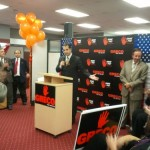 Chris Krimitsos at Mayor Greco kickoff campaign