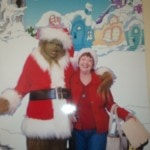 Kathy with the Grinch
