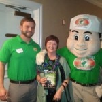 Kathy w College Hunks Hauling Junk Mascot