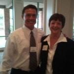 Kathy Perry at Costa Mesa Chamber Meeting