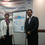 Kathy Perry at Philippine American Chamber of Commerce meeting