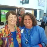 Kathy Perry with Joanne Weiland