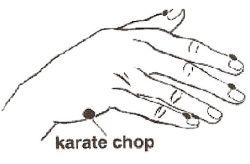 EFT Karate Chop
