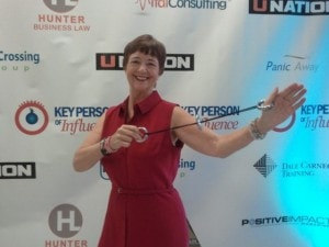 Kathy Perry at KPI event