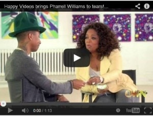 Pharrell Williams on Oprah Prime